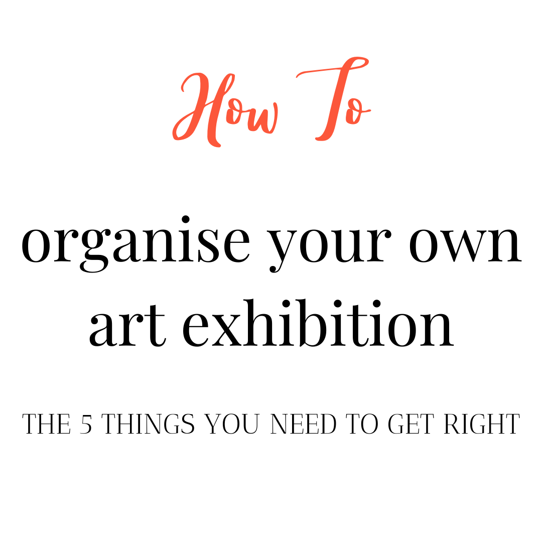 how to host a successful art event